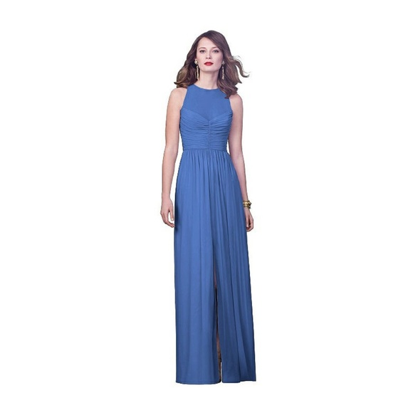 60736607699 Dessy Collection Dresses   Skirts - Dessy Collection Cornflower Blue  Bridesmaid 0